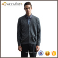Good quality pure cashmere men cardigan sweater with buttons